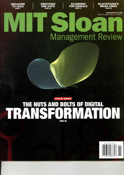 MIT SLOAN MANAG.REVIEW US