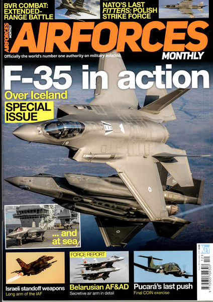 AIRFORCES MONTHLY GB