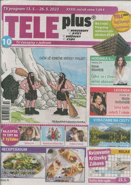 90b3a535a Časopis TELE plus poskytje svojim čitateľom – okrem televízneho programu a  televíznych tipov – aj zábavu v oblasti humoru, horoskopov a najrôznejších  hier o ...